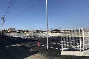 駐車場整備施工例
